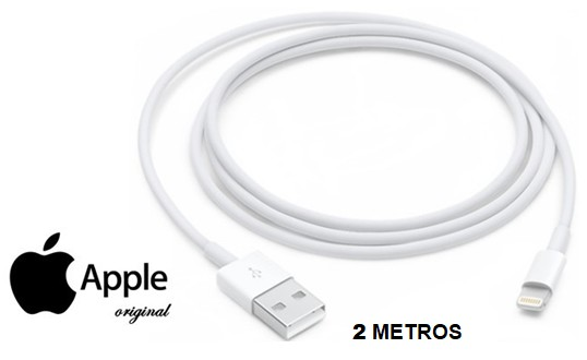 APPMD819ZM  CABLE APPLE ORIGINAL 2 M. IPHONE 5/6/7/8/X