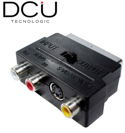 DCU301006  ADAPTADOR SCART/RCA/S-VIDEO DCU BASIC