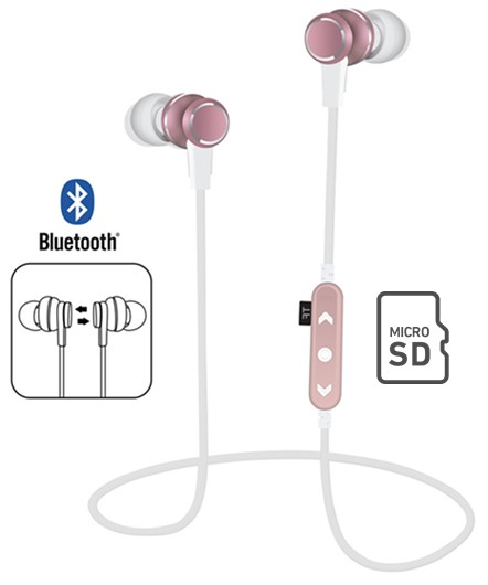 ONPMST12RS  AURICULAR BLUETOOTH ROSA BLUEGOOD