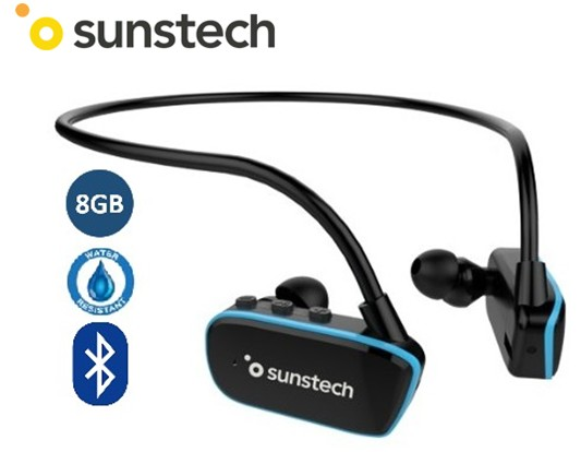 SUNARGOSHYBRID8  REPRODUCTOR MP3 SUMERGIBLE BLUETOOTH SUNSTECH 8GB