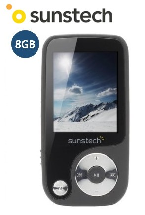 SUNTHORN8GR  REPRODUCTOR MP4 SUNSTECH 8Gb GRIS